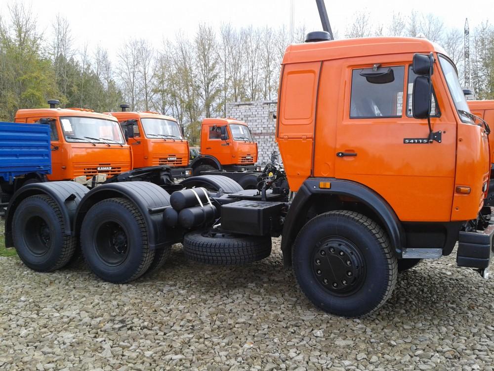 КамАЗ 54115 профиль оранжевый