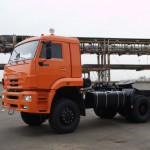 КамАЗ 65226 оранжевый