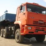 КамАЗ 65226 с прицепом для транспорта