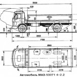 МАЗ 5337 1 чертеж