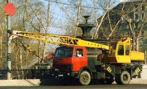 МАЗ 5337 кран