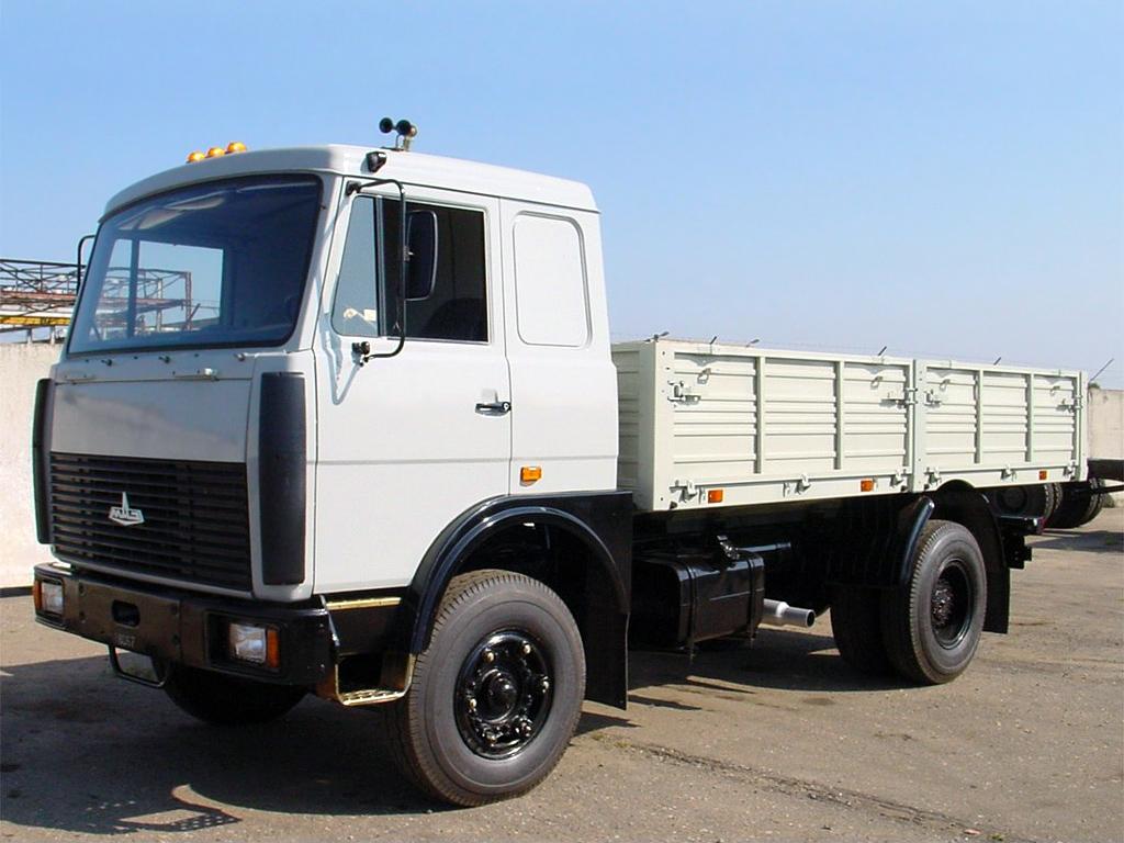 МАЗ 5337 низкие борты