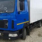 МАЗ 5337 синяя кабина