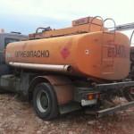 МАЗ 5337 топливозаправщик