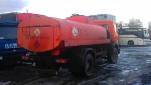 МАЗ 5337 топливозаправщик сзади