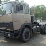 МАЗ 54323 серый