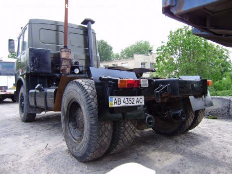 МАЗ 54323 сзади