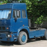 МАЗ 54329 синий