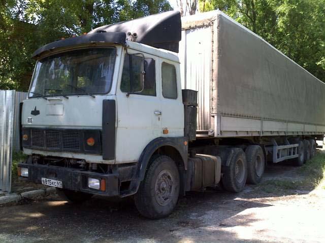 МАЗ-64229 с прицепом