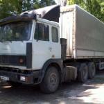 МАЗ 64229 с прицепом