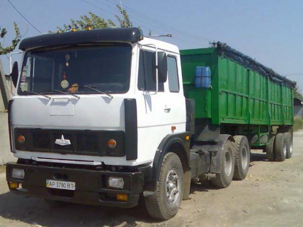 МАЗ-64229 зеленый кузов