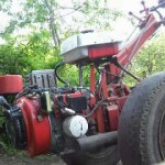Мотоблок Агрос силовой агрегат