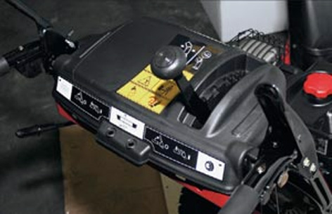 Снегоуборщик MTD E 640F панель