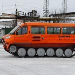 Снегоболотоход ГАЗ 34039 Ирбиз