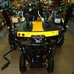 Снегоуборщик Champion ST656BS панель управления