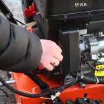 Снегоуборщик Prorab GST 110 EL силовой агрегат