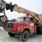 Tatra 148 кран