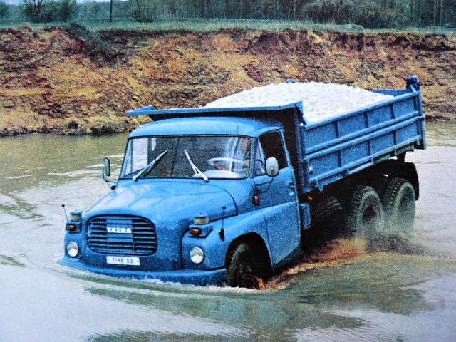 Tatra 148 перевозка грузов