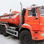 Автотопливозаправщики АТЗ 465115 на шасси КамАЗ-43118-46