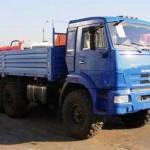 Бортовой автомобиль КАМАЗ-43118-6012-46