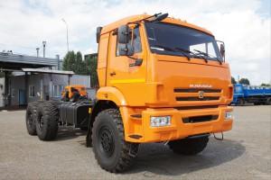 КамАЗ 43118 оранжевый