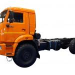 КамАЗ 43118 оражевый профиль