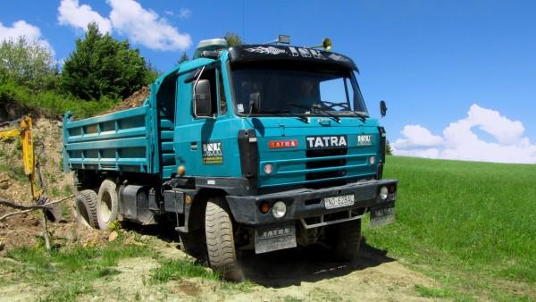 Tatra 815 в работе