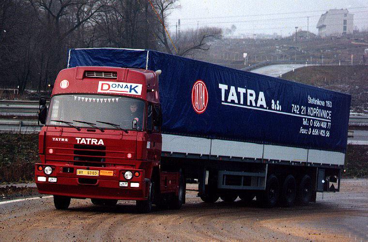 Тягач Tatra 815