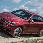 BMW X6 M по бездорожным проселкам