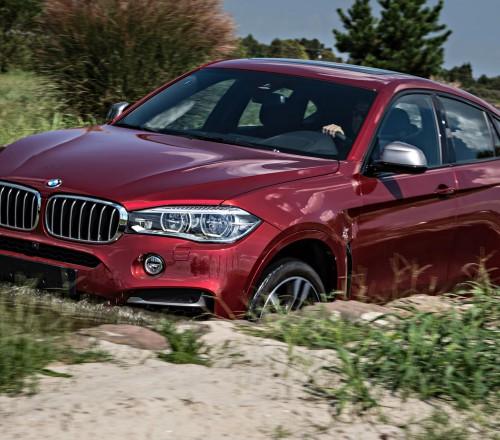 BMW X6 M-po-bezdorojyu
