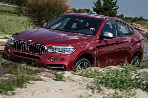 BMW X6 M по бездорожью