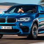 BMW X6 M по дороге