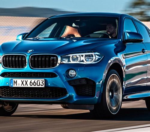 BMW X6 M-po-doroge