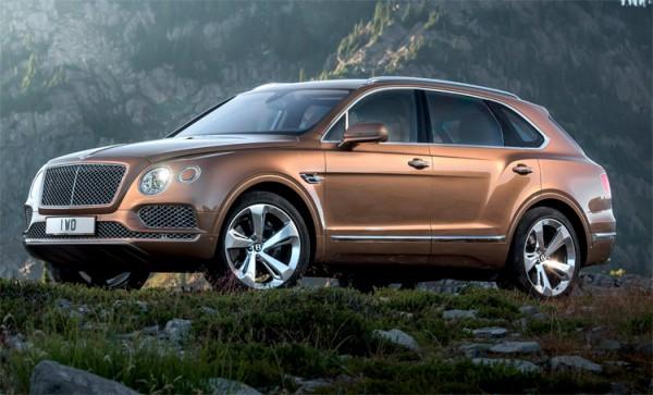 Bentley Bentayga бездорожье