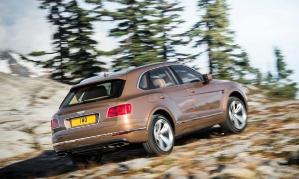 Bentley Bentayga по бездорожью