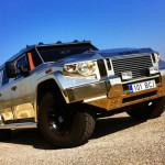 Dartz Gold Aladeen Edition Prombron анфас
