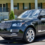 Land Rover Range Rover Autobiography Black анфас