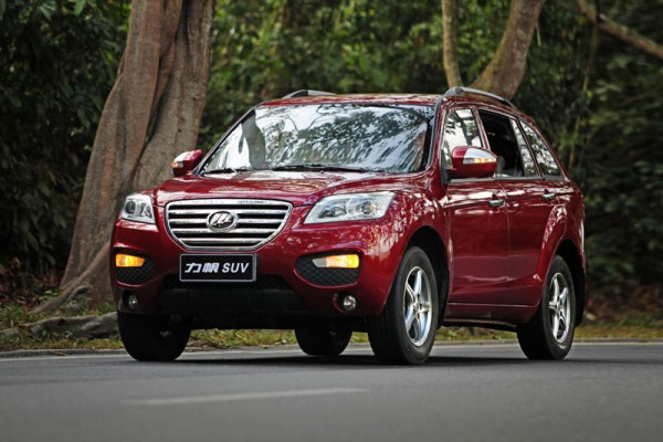 Lifan X60 красный