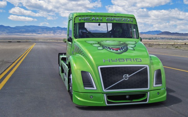 Mean Green Volvo