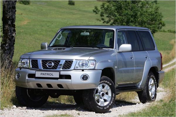 Nissan Patrol по бездорожью