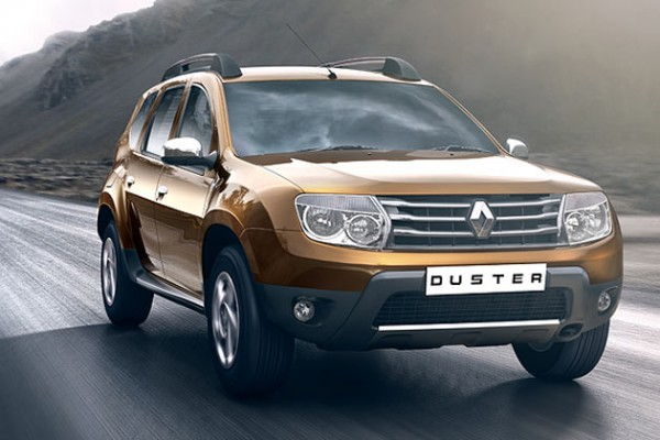 Renault Duster золотой