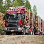 Scania R730 груженый