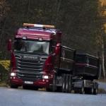 Scania R730 красный