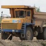 БелАЗ 7547 в работе