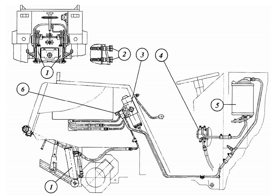 Мтз 82 ремонт гидравлики своими руками 87