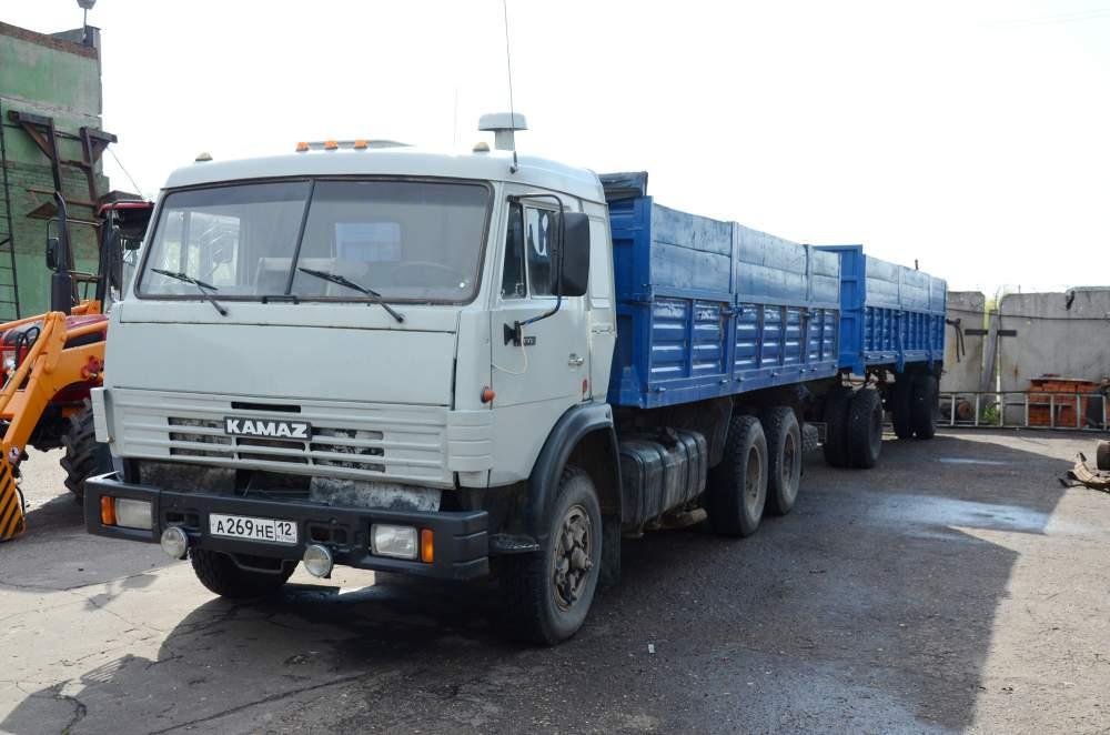 КамАЗ 53215 с прицепом