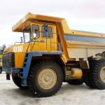 Карьерный самосвал серии БелАЗ 7547