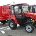 МТЗ 320 с прицепом