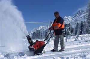 Снегоуборочная несамоходная техника