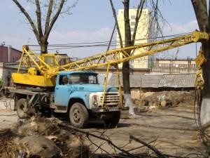 Автокран КС-2561Д на базе ЗИЛ 130